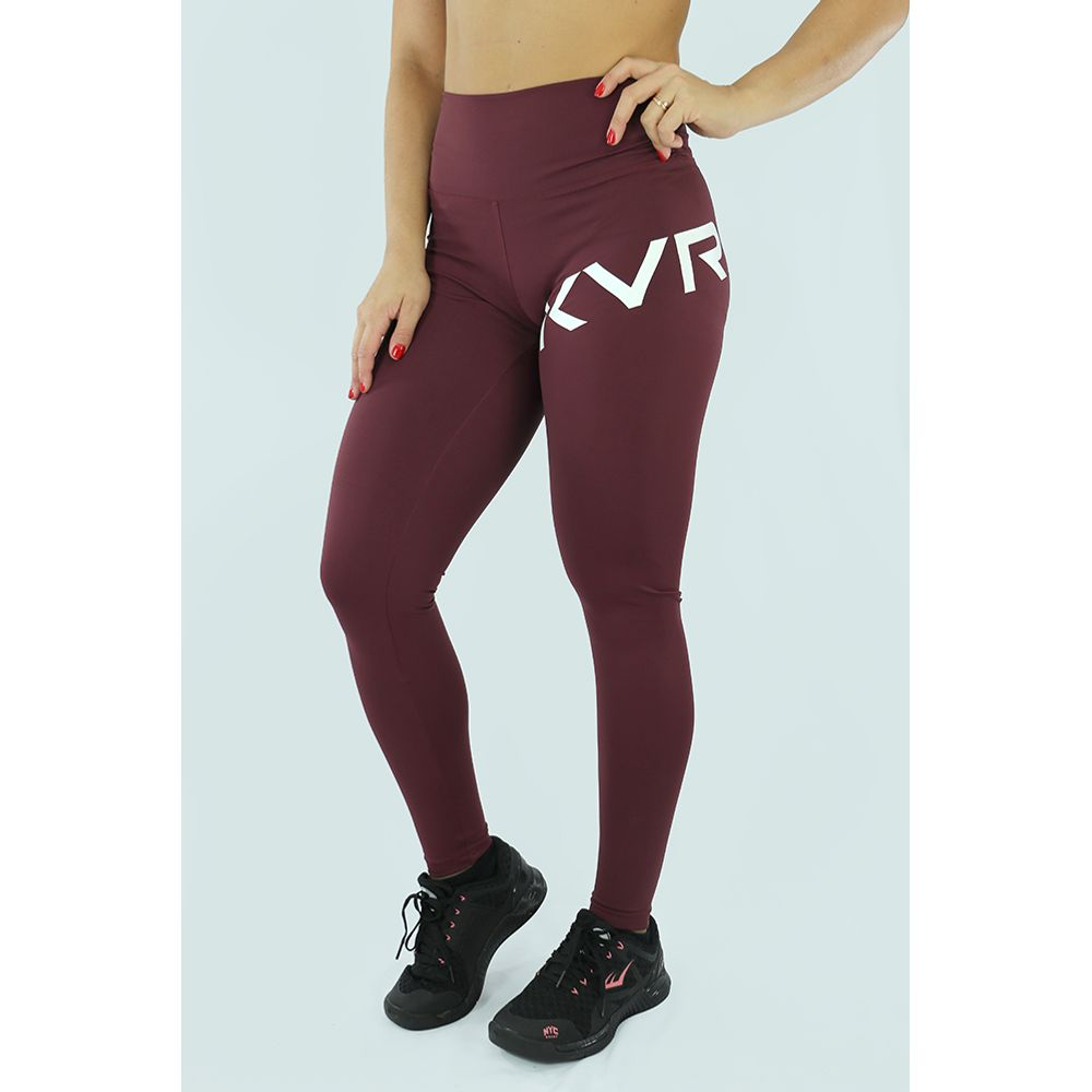 Legging-Feminina-Essence-Bordo